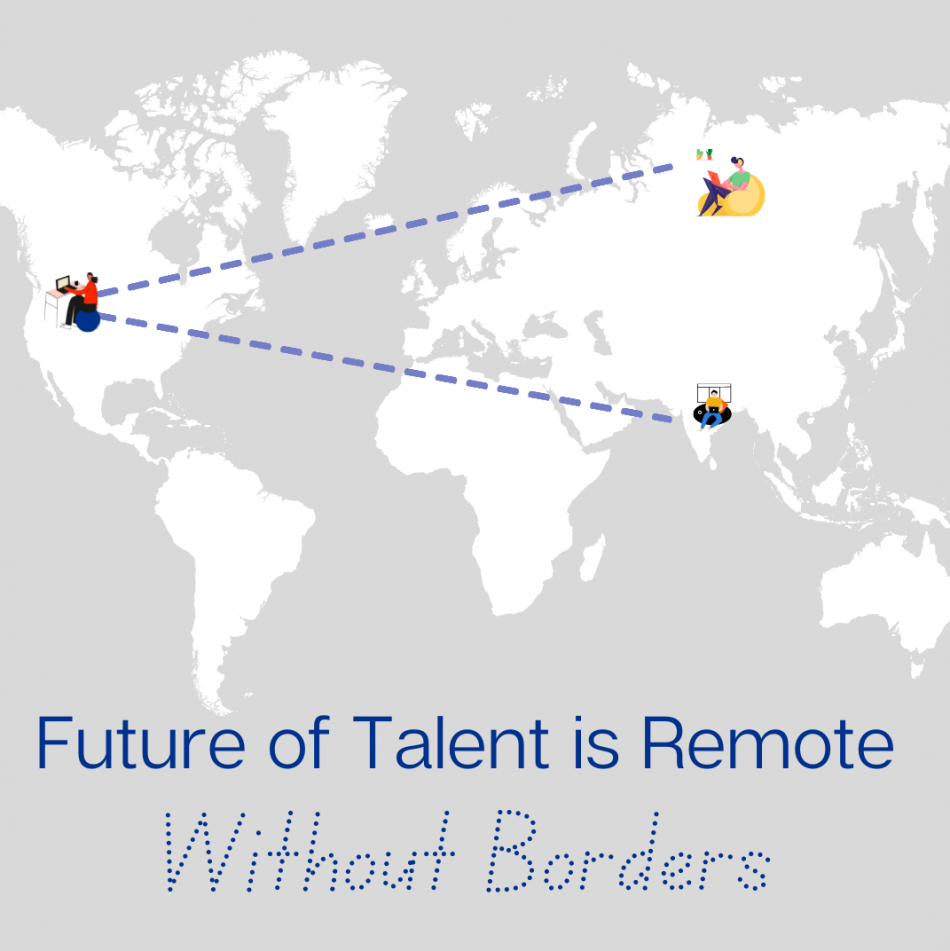 Copy of Copy of Future of Talent is Remote and without Borders